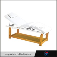 2015 top sale wooden portable facial bed massage table