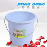 Cheap wholesale 10 gallon plastic bucket with lid,pe types of buckets