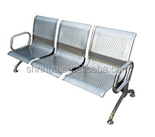 Factory direct stainless stell medical chair CE ISO Hospital waiting chair
