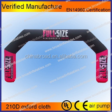 Hot sale inflatable finish line arch,inflatable entrance arch,advertising inflatable arch gate