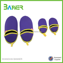 Custom colorful warm winter house shoes