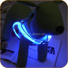 Fashion Design Puppy Supplies LED Flashing Dog Harness for Sale