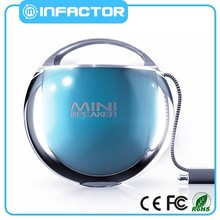 portable waterproof bluetooth wireless speaker mini speaker tf card with fm radio made in China