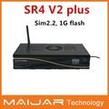 2014 neuankömmling Sunray sr4 v2 wifi plus 1 gb 512mb ram sim2.2 400 MHz-Prozessor Sunray satelliten-receiver sr4 v2 plus