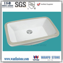Bathroom wash basin ceramic sink bathroom square