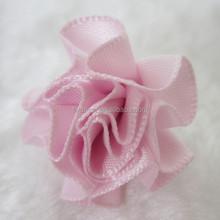 satin ribbon roses flower for wedding decoration