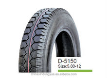DONGYUE ! Chinese cheap (Micro light truck )three wheels mini motorcycle tire / tyre 5.00-12