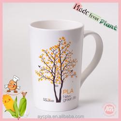 wholesale biodegradable custom Promotional plastic mug