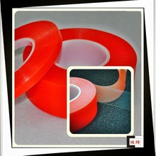 Acrylic adhesive double sided red film pet tape