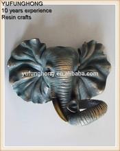 De pared de arte de la resina y la escultura