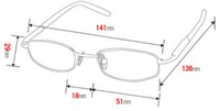Женские очки для чтения 815
