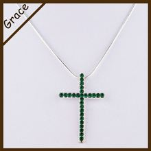Manufacturer supply simple design alloy necklace jewelery from China