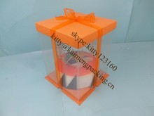 2015hot selling fashion style cake box for birthday and party