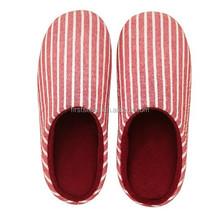 2015 winter fleece traveling foldable slippers