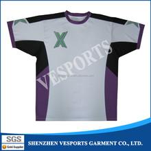 Custom made youth sports round neck tshirt