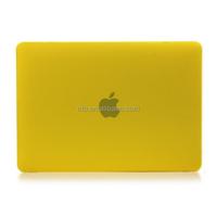 For New Macbook Yellow Case, Retina Display 12 Inch Laptop Computer [2015 Release]