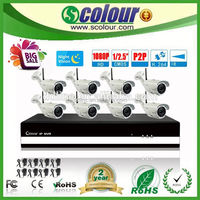 Good 8CH CCTV Surveillance Security IP Camera System Kit norinco(BE-6009SLIPWA)
