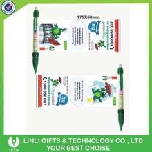 Plastic Promotional Banner Biro Pen