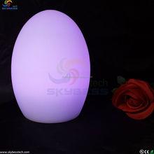 Magic Colorful Changing Egg LED Light/ Luminous Egg