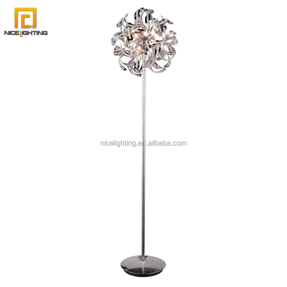 crystal floor lamp import from china buy crystal floor standing lamp. Black Bedroom Furniture Sets. Home Design Ideas