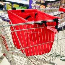 Hot Sale Portable Reusable Supermarket Shopping Cart Bag Wholesale