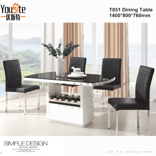 High quality detachable wood dining table designs buy for Quality wood dining tables
