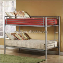 Hot sale designs Kids twin metal bunk bed frame for living room