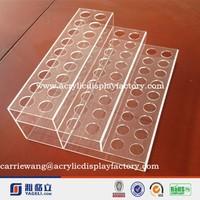 24 frames lady lipstick Acrylic Clear Make Up Organiser Cosmetic Display shelf