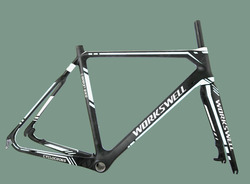 700C Super light Workswell Cyclocross Disc Brake or V brake Carbon Cyclocross Frame