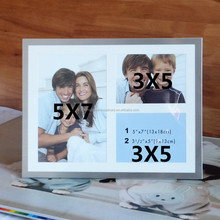 multi opening collage piture frame 3x5 5x7, aluminium photo frame for couples gifts