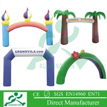 Inflatable events Air PVC Arch for advertising