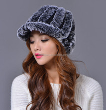 2012 New Arrivals Warm winter 100% Rabbit Fur Hat