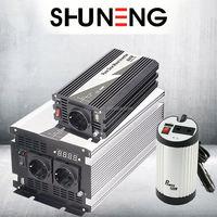 SHUNENG 260w ip 65 waterproof micro solar grid tied inverter