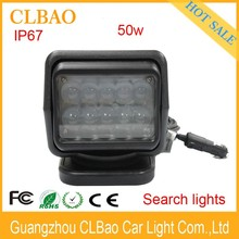 Promotional outdoor stage Waterproof high power led 50w Sky Rose Search lighting with top quality colors changing