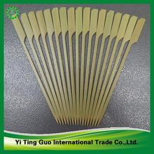 knotted recycle BBQ Bamboo skewers wholesale