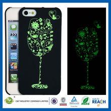 C&T Luminous effect goblet Print Design cheap mobile phone case for iphone5