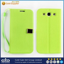 Fancy flip cover case for Samsung i9300 for galaxy s3