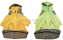 waterproof breathable rainproof pet dog rain coat