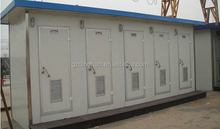 guangzhou cheap price steel structure prefabricated portable mobile toilet