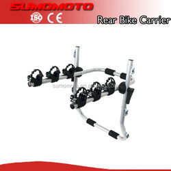 Manufacturer High Quality Rear Mounted 3 Bicycle Car Cycle trunk bike rack
