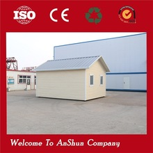 Strong well designed steel prefab house used container price
