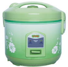 Green flower pattern smart cook products