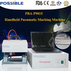 2014 hot selling Possible brand mark manufacturing number/production number Portable Aluminum/Steel Marking Machine