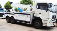 dongfeng recovery truck, right hand wrecker tow trucks for sale, towing equipment