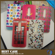 Fancy design phone case for motorola x play tpu back case cover