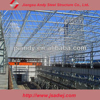 Steel structure and sapce frame roof