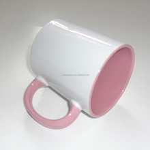 Promotional colorful ceramic mug for sublimation