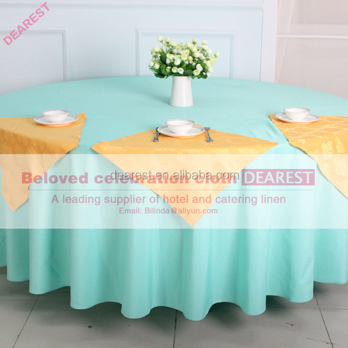 Hotel linen table cloth fancy wedding table cloths for Where can i buy table linens