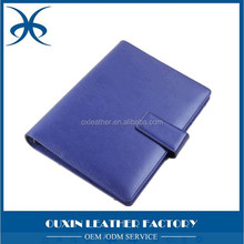 genuine leather notebook with pen and card holder and calculator of 2015 newest style notebook