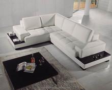 2015fashion design corner leater sofa for living room F073